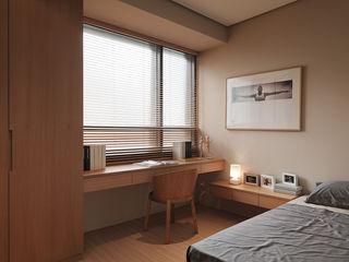形構設計 Morpho-Design Dormitorios de estilo moderno
