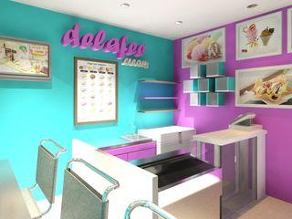 Diseño Heladería Diseño Store Tiendas y espacios comerciales