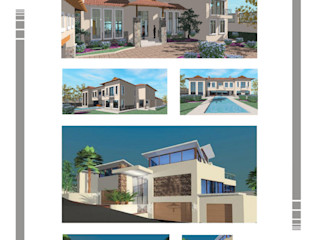 Hyperrealistic Architectural Studio Colonial style house