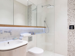 Modern New Home in Hampstead - Bathroom Black and Milk | Interior Design | London BathroomMirrors