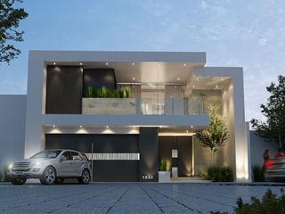 Mstudio Arquitectura+Construccion Modern houses Bricks Multicolored