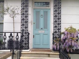 FAMILY TOWNHOUSE - NOTTING HILL My-Studio Ltd Klassische Häuser Stein Blau