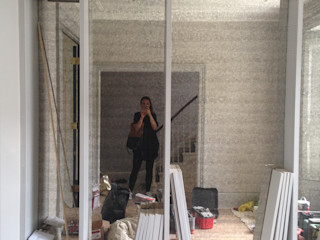 FAMILY TOWNHOUSE - NOTTING HILL My-Studio Ltd Moderne Wohnzimmer MDF Grau