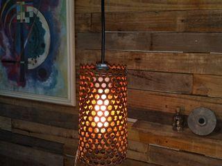 Lampara Vintage Colgante Chapa Oxido Lamparas Vintage Vieja Eddie DormitoriosDecoración y accesorios Hierro/Acero Multicolor