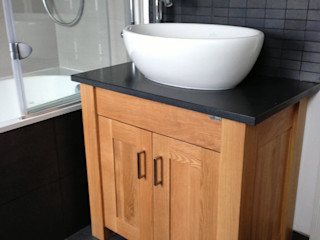 WC One Project Photo's Stonearth Interiors Ltd Modern Bathroom Solid Wood