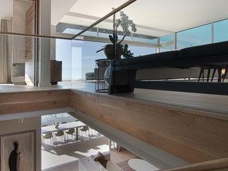 Hove Road Make Architects + Interior Studio Modern Corridor, Hallway and Staircase