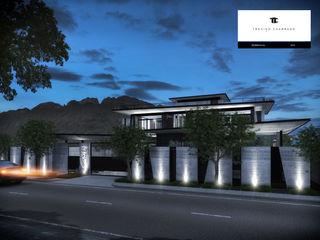 RESIDENCIA GG TREVINO.CHABRAND | Architectural Studio Casas modernas