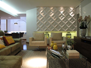 Cia de Arquitetura Вітальня