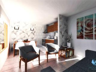 NidoSur Arquitectos - Valdivia Modern Dining Room