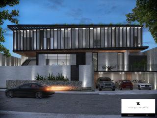RESIDENCIA TF TREVINO.CHABRAND | Architectural Studio Casas modernas