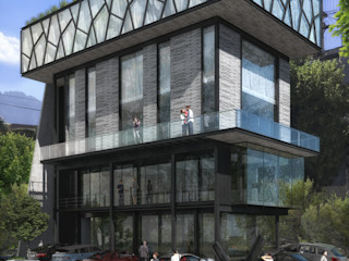 TORRE RIO ROSAS TREVINO.CHABRAND | Architectural Studio Casas modernas