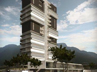 TORRE PANORAMA TREVINO.CHABRAND | Architectural Studio Casas modernas