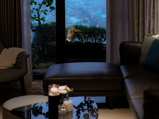 DYD INTERIOR大漾帝國際室內裝修有限公司 Salones de estilo asiático