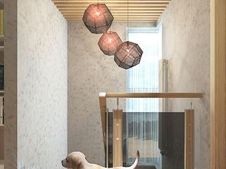 Your royal design Pasillos, vestíbulos y escaleras de estilo minimalista Beige