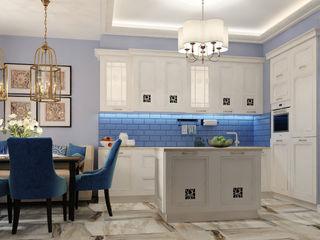Vera Rybchenko オリジナルデザインの キッチン
