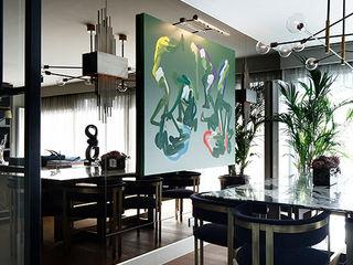 NEST SG HOUSE Esra Kazmirci Mimarlik Modern living room