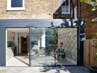 West Hampstead Glazed Extension Trombe Ltd Кухня