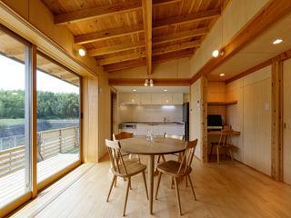 磯村建築設計事務所 Nowoczesny salon