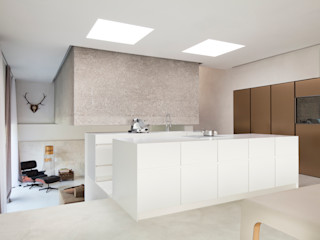 destilat Design Studio GmbH Modern kitchen