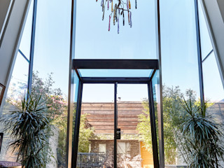 Lean to Structural Glass Extension Trombe Ltd Коридор