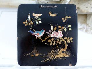 Maisondora Vintage Living KleedkamerOpbergen Hout Zwart