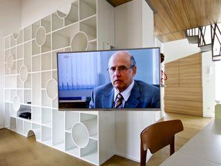 3rdskin architecture gmbh ВітальняПідставки для телевізорів та шафи