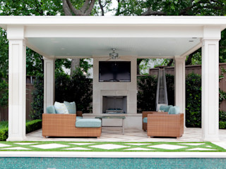 Matthew Murrey Design Ausgefallener Balkon, Veranda & Terrasse