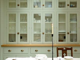 The Islington N1 Kitchen by deVOL deVOL Kitchens Кухня Зелений