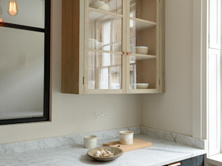 The Marylebone Kitchen by deVOL deVOL Kitchens Кухня Дерево Синій