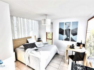 NidoSur Arquitectos - Valdivia Modern style bedroom