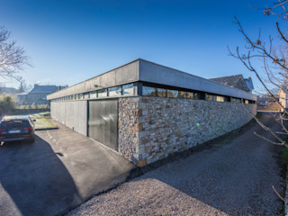 Hugues Tournier Architecte Industrial style houses