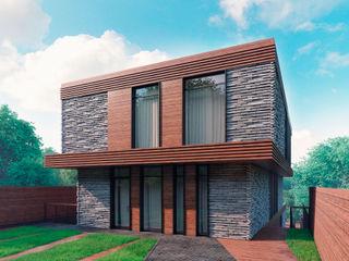 FLYING house BOOS architects Дома в стиле минимализм