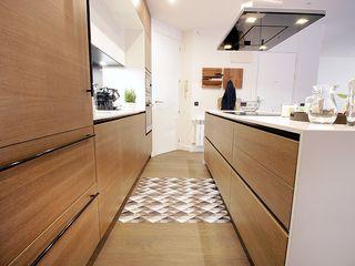 Cocina Abierta al Salón Línea 3 Cocinas Madrid Cocinas de estilo moderno