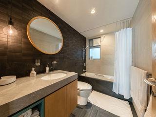 arctitudesign Minimalist style bathrooms Ceramic Black