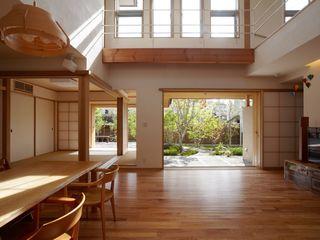 stage Y's 一級建築士事務所 غرفة المعيشة خشب White