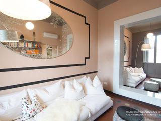 Rachele Biancalani Studio Salones de estilo ecléctico