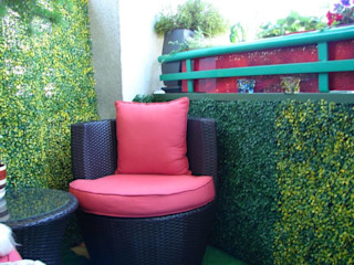 Artificial Garden Screen & Green Wall Covering Sunwing Industries Ltd Classic style garden Plastic Yellow