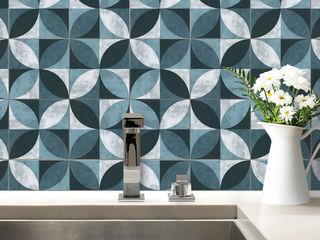 K&L Wall Art CocinaAccesorios y textiles Sintético Azul