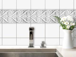 K&L Wall Art CocinaAccesorios y textiles Sintético Blanco