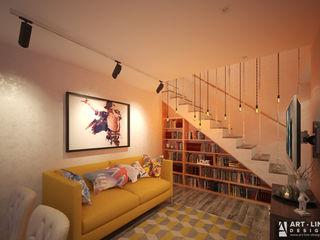 Арт-лайн дизайн Classic style corridor, hallway and stairs