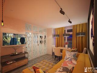 Арт-лайн дизайн Classic style living room