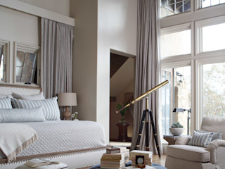 Christopher Architecture & Interiors Rustic style bedroom