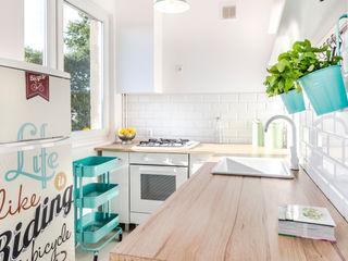 Pasja Do Wnętrz Scandinavian style kitchen
