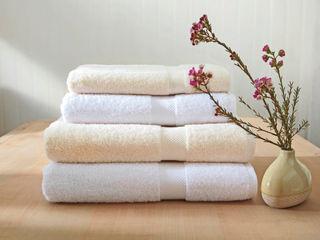 Organic Bedding and Towelling by King of Cotton King of Cotton Casa de banhoTêxteis Algodão