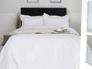 Egyptian Cotton Bedrooms by King of Cotton King of Cotton QuartoTêxteis Algodão Branco