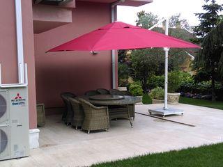 Akaydın şemsiye 花園溫室與大帳棚 鋁箔/鋅 Red