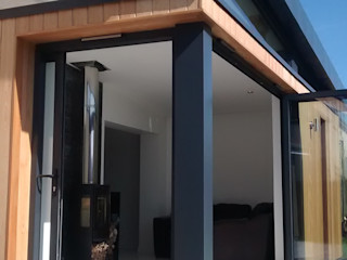 Dab Den house Extension Dab Den Ltd Modern Living Room