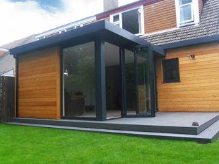 Dab Den Extension Dab Den Ltd Modern Houses Wood