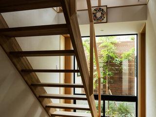 藤森大作建築設計事務所 Modern Koridor, Hol & Merdivenler