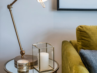 Musewll Hill, London Jigsaw Interior Architecture Living room Copper/Bronze/Brass Green